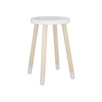Table d'appoint / chevet - Blanc
