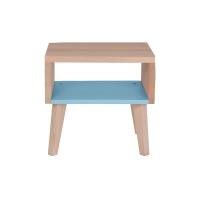 Chevet / Bout de canapé - Bleu clair