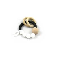 Chew Anneau de dentition - Noir/Blanc