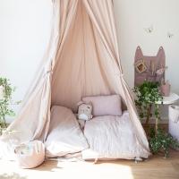 Ciel de lit rêveur - Mauve