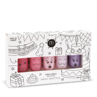Coffret de 5 vernis Party