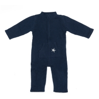 Combinaison bébé Cachemire - Bleu marine