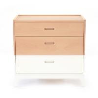 Commode 3 tiroirs New Horizon - Blanc