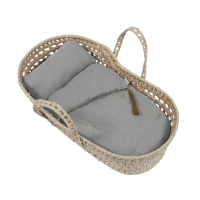 Couffin poupée - Gris argent