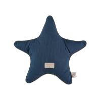 Coussin étoile Aristote Elements - Bleu marine