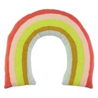 Coussin Arc-en-ciel - Multicolore