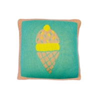 Coussin tricot Ice Dream