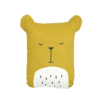 Coussin Sleeping Bear - Jaune