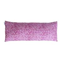 Coussin long bicolore Diabolo - Rose
