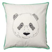Coussin Tête de panda