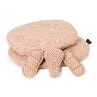 Coussins d'assise Tibu Diamond Toast - Beige orangé