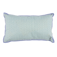 Coussin rectangle Books - Bleu gris