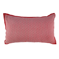 Coussin rectangle Chine - Rose