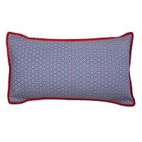 Coussin rectangle Kubus - Bleu