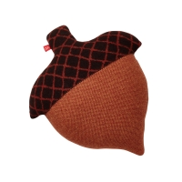 Coussin Gland - Brun