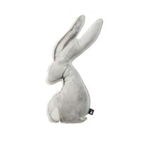 Coussin Bunny - Blanc cassé/Gris doux