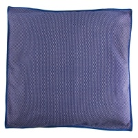 Grand coussin Flots - Marine