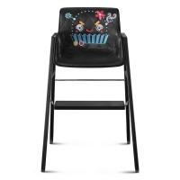 Chaise haute évolutive Space Pilot - Noir
