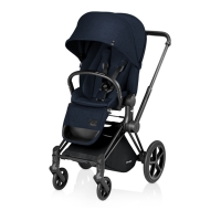 Poussette PRIAM Luxe Midnight Blue - Marine