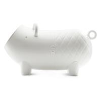 Hausschwein coffre de rangement - Blanc