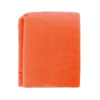 Drap plat lin 150 x 250 - Corail