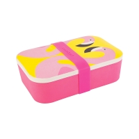 Eco Lunchbox Flamant Rose - Rose