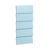 Faces supplémentaires pour chiffonnier 5 tiroirs Vintage - Bleu