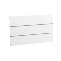 Faces supplémentaires pour commode 3 tiroirs Vintage - Blanc