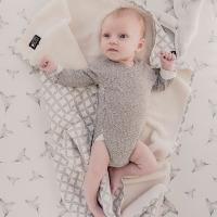 Drap housse bébé Little Dreams - Blanc cassé