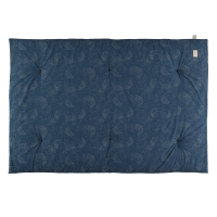 Matelas futon Eden bubble Elements - Bleu marine
