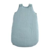 Gigoteuse en gaze de coton - Bleu clair