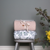 Couverture Ollie - Rose pastel