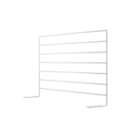 Panneau en métal pour bureau - Blanc