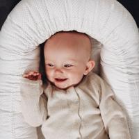 Couffin bébé Gro Babylift Little Dot - Crème de la crème