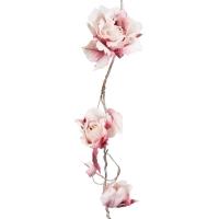 Guirlande de Rose - Fuchsia / Ivoire