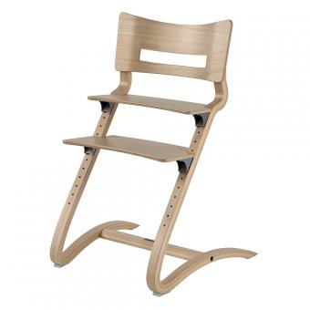 Chaise haute volutive leander naturel leander pour for Chaise haute fille