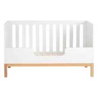Barrière pour lit bébé canapé Indigo 70 x 140 - Blanc