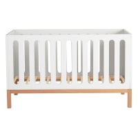 Lit bébé canapé Indigo 70 x 140 - Blanc