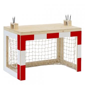 bureau cage de foot jan rouge xo in my room pour chambre. Black Bedroom Furniture Sets. Home Design Ideas