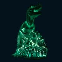 Lampe veilleuse Dinosaure - Mint