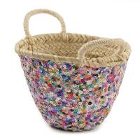 Panier paillettes - Multicolore