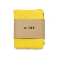 Serviette tissée en coton et lin WOTI - Jaune