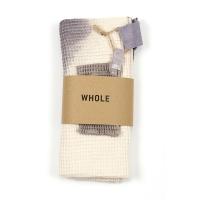 Drap de bain et son petit gant WATH NEW - Gris