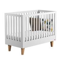 Lit bébé 60 x 120 Lounge - Blanc