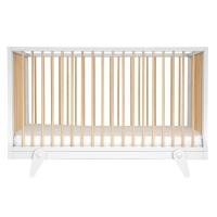 Lit bébé évolutif 70 x 140 cm Petipeton - Blanc