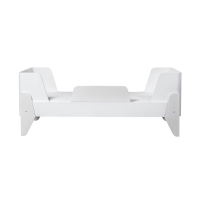 Lit junior Korento 70 x 160 cm - Blanc