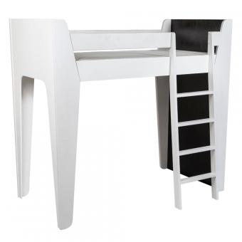 Lit Mezzanine Ketara Noir Blanc Lumokids Pour Chambre Enfant Les Enfants Du Design