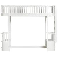 Lit mezzanine Wood - Blanc