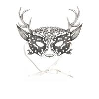 Masque enfants My Deer Mask - Noir/Blanc