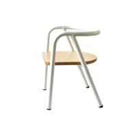 Chaise en métal enfant - Blanc